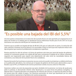 Boletín informativo C's Sant Feliu